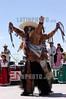 """Mexico : Da inicio la maxima fiesta del estado de Oaxaca la Guelaguetza, vocablo zapoteca que significa """"ofrenda"""" donde todas las regiones del estado se reunen en el cerro del fortin para deleitar ala gente local e internacional de los bailables unicos de cada una de sus comunidades. En la imagen La Danza de los Rubios originarios de la region de juxtlahuaca. / Mexico: indigenous dancers during a festival in Guelaguetza. / Mexiko: Indigene Tänzer während eines Festivals in Guelaguetza. © Jorge Luis Plata/LATINPHOTO.org"""