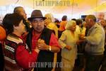 Mexico - Toluca: Personas de la tercera edad bailan en la explanada de los martires en Toluca celebrando el dia internacional del adulto mayor . jubilados. pensionistas. / Mexico: pensioners ...