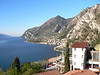 View from balcony of Limone Hotel