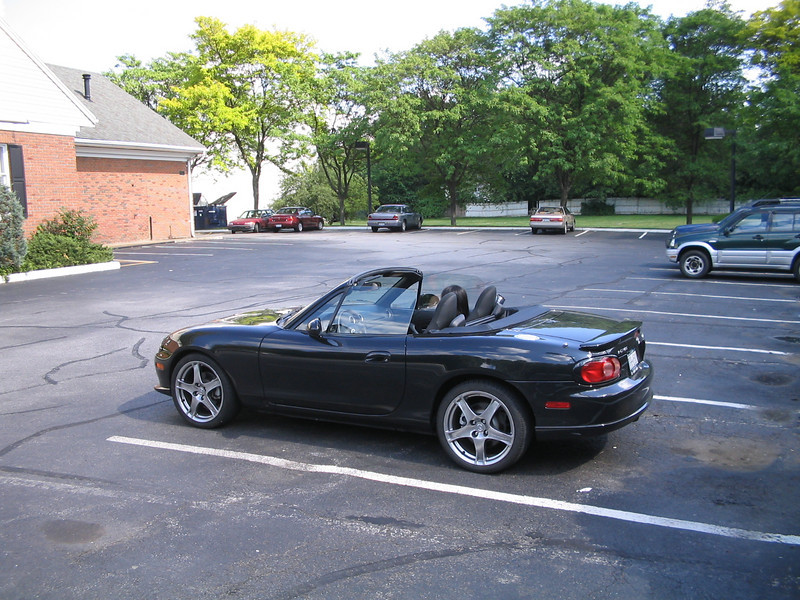 Random Miata shot--was not taken to any of the three places.