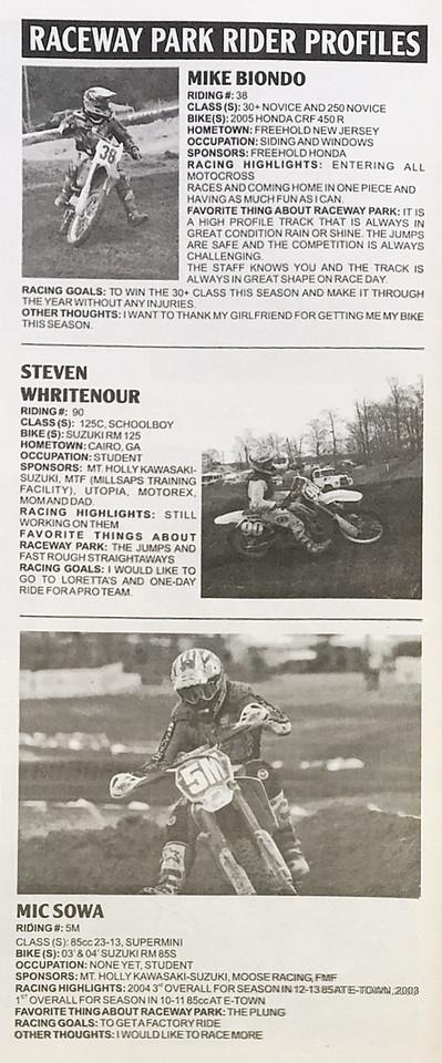 2005 Portfolio of Published Work