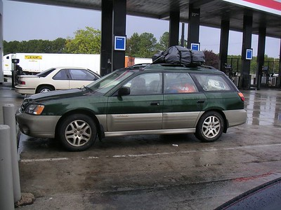 Cathy's car is loaded too.