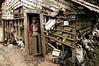 Guatemala: Anciana en San Marcos, guatemala 300kms al norte del pais en su casa espera la llegada de su esposo quien salio a cortar lena para llevar el sustento . Esta pareja de ancianos forman parte del 56% de personas pobres del pais. / Guatemala: Poverty. old age pensioner. / Guatemala: Alte Frau lebt in Armut in einer baufälligen Hütte in San Marcos.  © Jesus Alfonso/LATINPHOTO.org