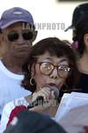 Mexico: Jubilados y Pensionados de la delegacion 146 de Coatzacoalcos, realizan un planton en el parque Independencia enfrente del palacio municipal, en protesta de la mala atencion que reci ...