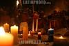 Venezuela : Actos culturales en la montana de sorte , estado Yaracuy, Venezuela para celebrtar el dia de la resistencia indigena En la Montana de Sorte, estado Yaracuy, Venezuela Espiritistas se congregan en la madrugada del 12 de octubre para bajar espiritus de la corte india y celebrar el dia de la resistencia indigena ante Cristobal Colon y sus colonizadores Los mediums recibieron espiritus para bailar en candela Mediums bajaron espiritus de la corte india en la madrugada del dia 12 de octubre / Venezuela: indigenous / Venezuela: Indigenes Ritual © Juan Carlos Hernandez/LATINPHOTO.org