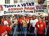 Venezuela - Caracas : Areas aledaÒas al Consejo Nacional Electoral (CNE) El pueblo venezolano realiza gigantesca movilizacion en apoyo a las elecciones que se realizaran el proximo dia 4 de Diciembre / Venezuela: pro Chavez manifestation / Venezuela: Pro Chavez Anhänger <br /> © Jorge Luis Banos/AIN/LATINPHOTO.org