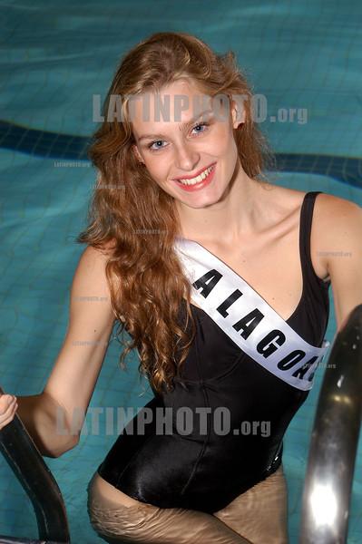 Brasil : Miss Alagoas reina de la belleza belleza modelo / Brazil: beauty queen / Brasilien: Miss Schönheitskönigin Junge Fraue Modell Fotomodell © Julio Vilela/LATINPHOTO.org