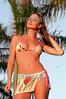 Brasil : Alessandra Dernardini belleza modelo lengua / Brazil: beauty / Brasilien: Fotomodell Zunge © Julio Vilela/LATINPHOTO.org