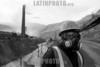 Peru : minero en la mina Morococha en abril de 2005 , La Oroya / miner / Mineur in Morococha (B/W) © Alejandro Balaguer