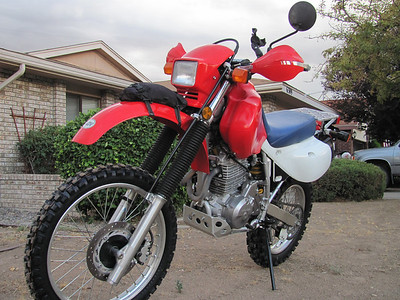 2006 Honda XR650L - Before & After