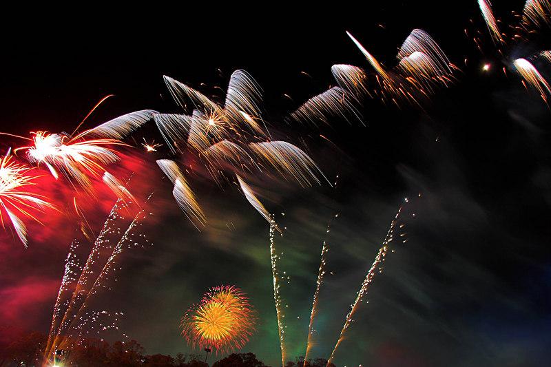 Erm. More fireworks.