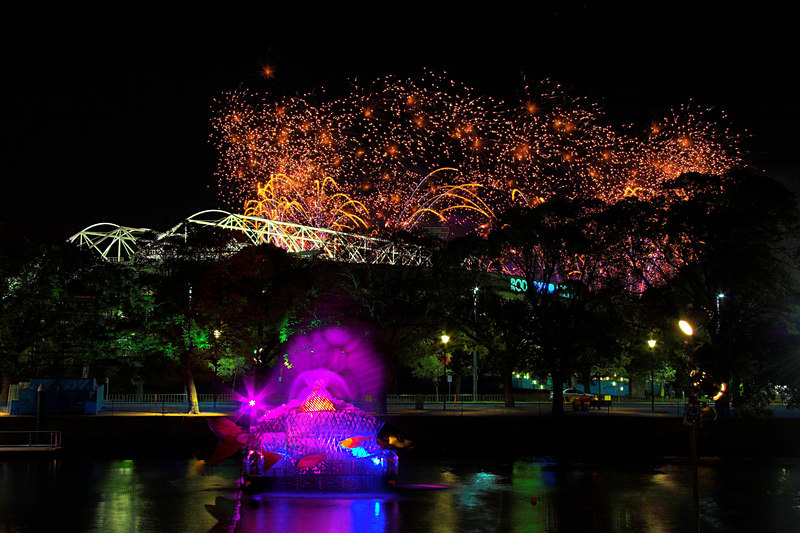 More MCG fireworks.