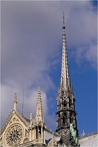 Back tower of Notre Dame (Paris)