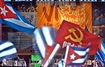 Venezuela - Caracas (06.01.24) Plaza Las Tres Gracias. Con una colorida marcha de 100 mil personas , se inauguro el VI Foro Social Mundial, enfilado al logro de ese otro mundo mejor posible  ...