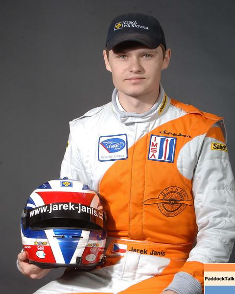 2007 American Lemans Series driver's portraits. Jarek Janis