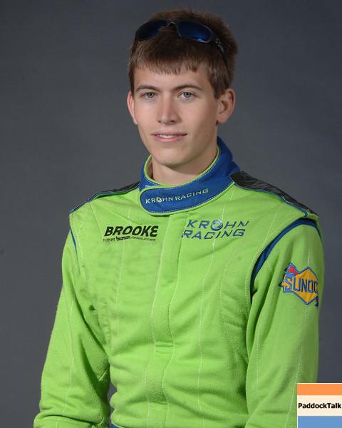 2007 American Lemans Series driver's portraits. Colin Braun