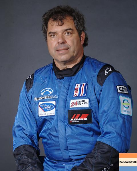 2007 American Lemans Series driver's portraits. Pierre Ehret