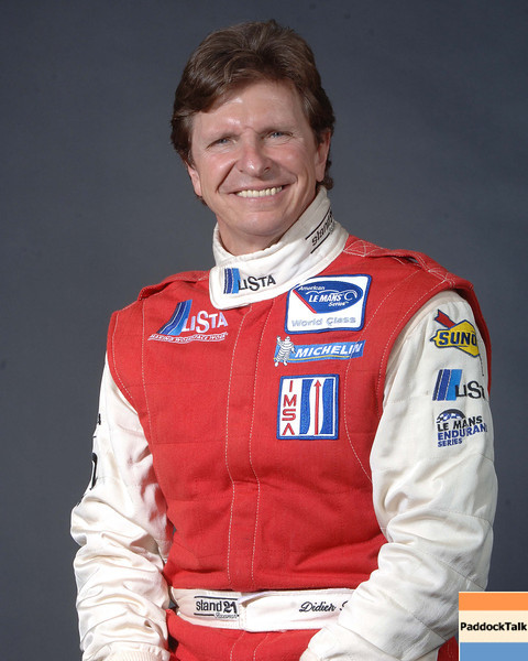 2007 American Lemans Series driver's portraits. Didier Theys
