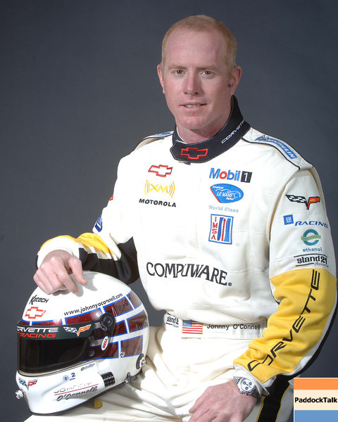 2007 American Lemans Series driver's portraits. Jonny O'Connell