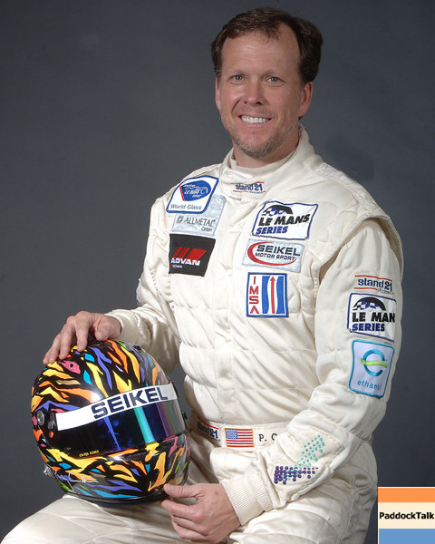 2007 American Lemans Series driver's portraits. Philip Collin