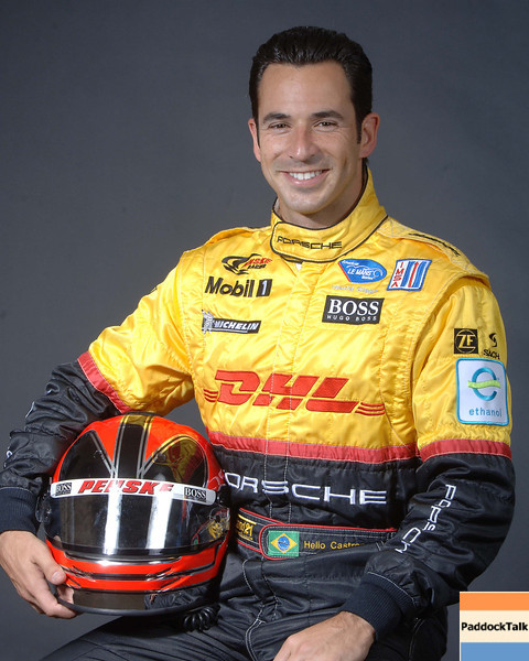 2007 American Lemans Series driver's portraits. Helio Castroneves
