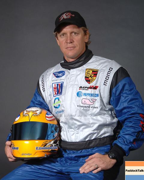 2007 American Lemans Series driver's portraits. Terry Borcheller