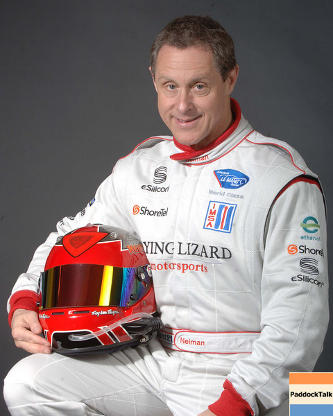 2007 American Lemans Series driver's portraits. Seth Neiman