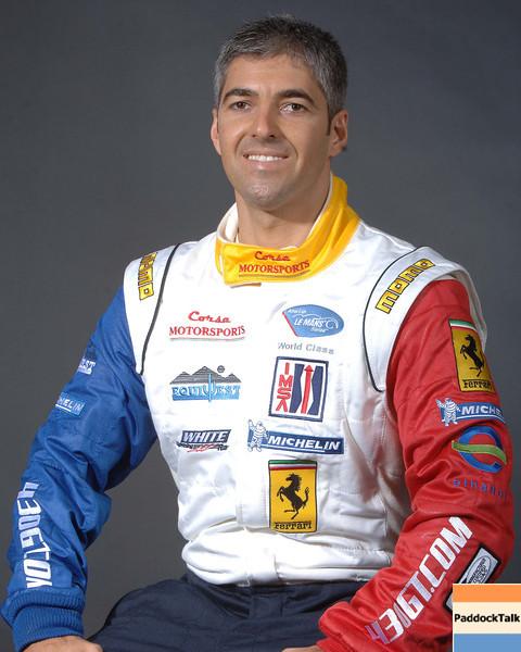 2007 American Lemans Series driver's portraits. Rui Aguas