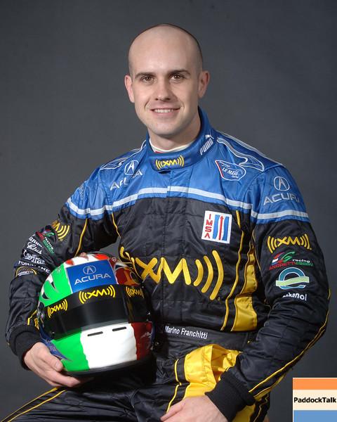 2007 American Lemans Series driver's portraits. Marino Franchitti