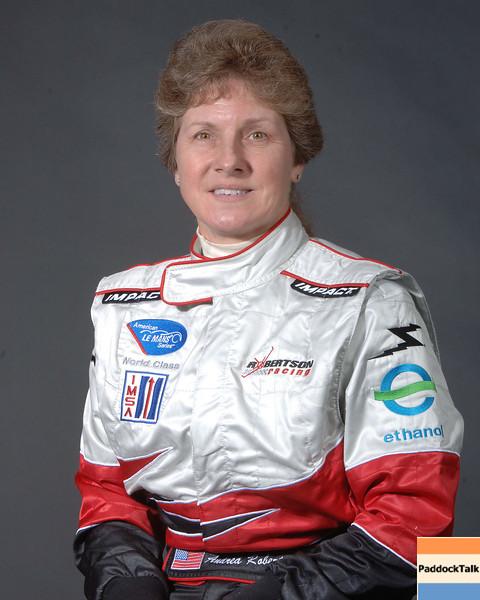 2007 American Lemans Series driver's portraits Andrea Robertson