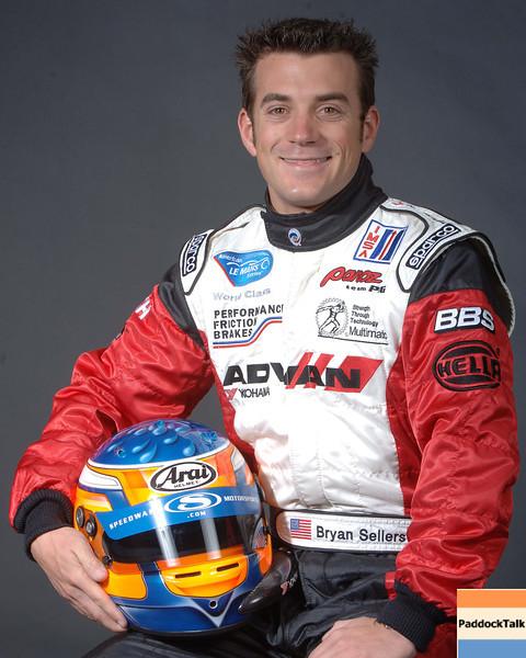 2007 American Lemans Series driver's portraits. Bryan Sellers