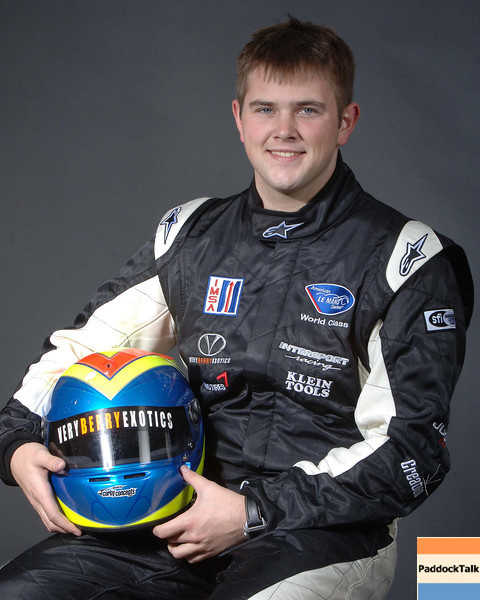 2007 American Lemans Series driver's portraits. Clint Field