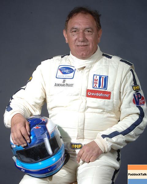 2007 American Lemans Series driver's portraits. Rob Wilson