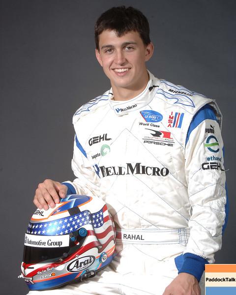 2007 American Lemans Series driver's portraits. Graham Rahal