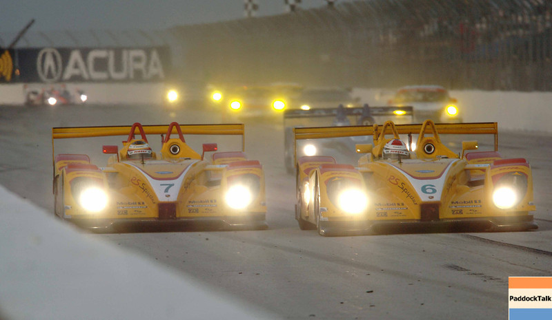 American Lemans Series. 29-31 March 2007. St Petersburg Grand Prix. St. Petersburg, Fla. #6 and #7 Penske Porsche.