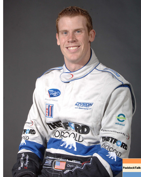 2007 American Lemans Series driver's portraits. Chris Dyson