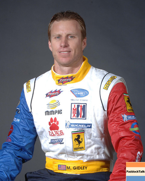 2007 American Lemans Series driver's portraits. Memo Gidley