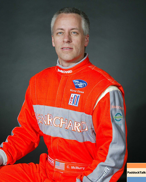 2007 American Lemans Series driver's portraits. Chris McMurry