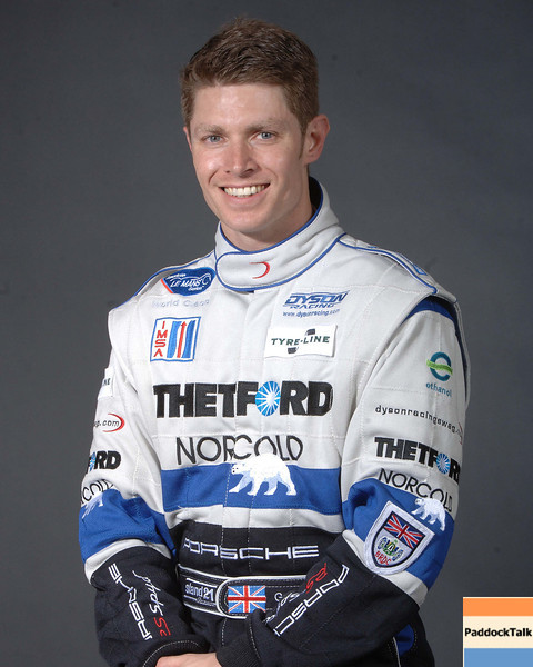 2007 American Lemans Series driver's portraits. Guy Smith