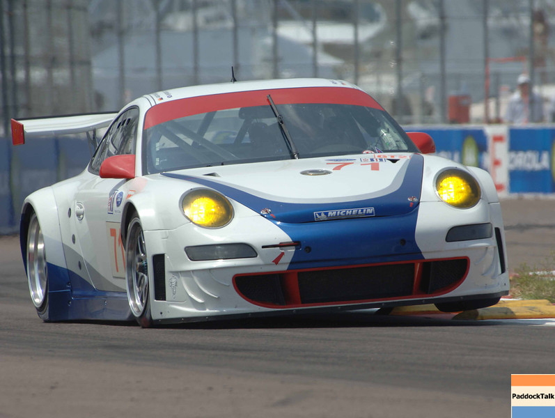 American Lemans Series.  29-31 March 2007. St Petersburg Grand Prix. St Petersburg, Fla. #71 Tafel Porsche.