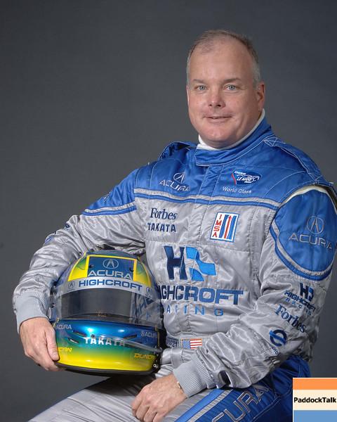 2007 American Lemans Series driver's portraits. Duncan Dayton