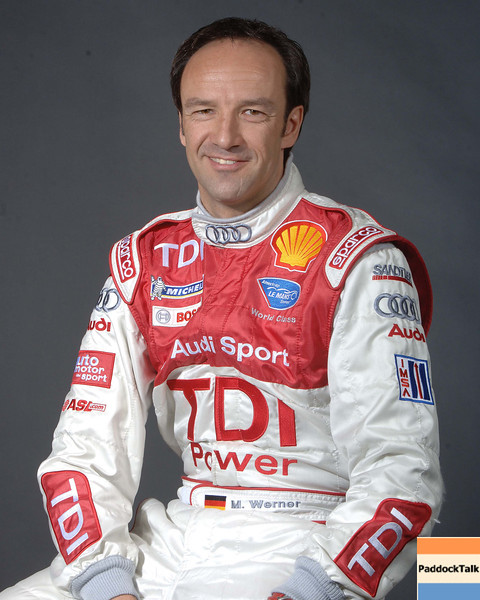 2007 American Lemans Series driver's portraits. Marco Werner