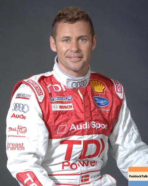 2007 American Lemans Series driver's portraits. Tom Kristensen