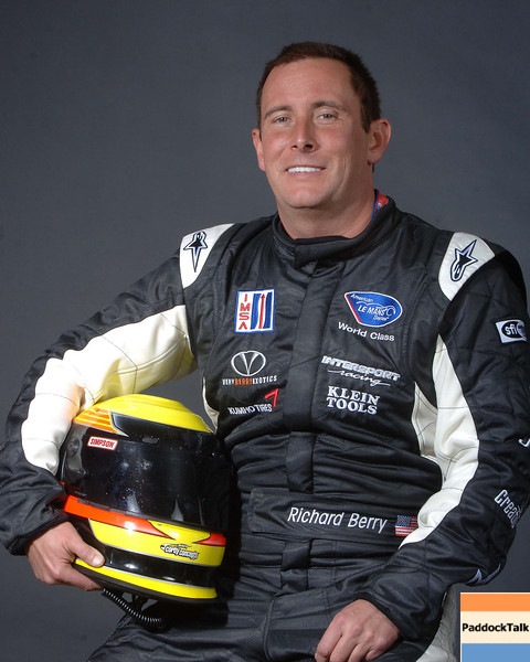 2007 American Lemans Series driver's portraits. Richard Berry