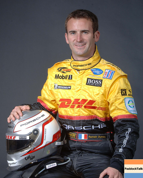 2007 American Lemans Series driver's portraits. Romian Dumas