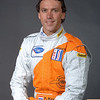 2007 American Lemans Series driver's portraits. Peter Kox