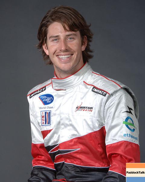 2007 American Lemans Series driver's portraits. Arie Luyendyk Jr