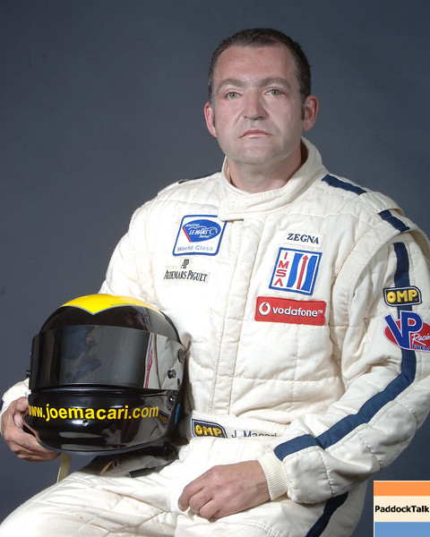 2007 American Lemans Series driver's portraits. Joe Macari