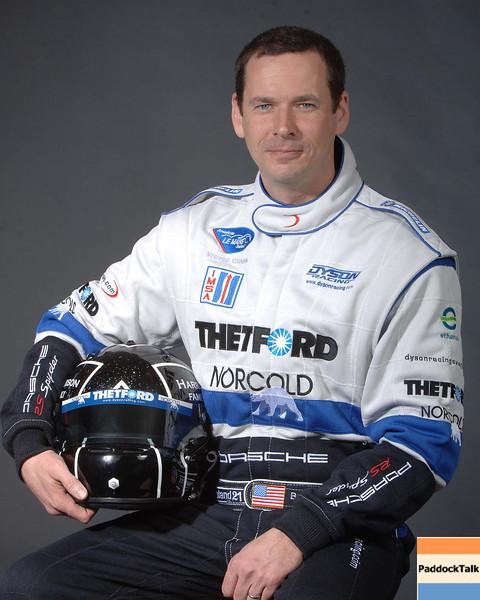 2007 American Lemans Series driver's portraits. Butch leitzinger