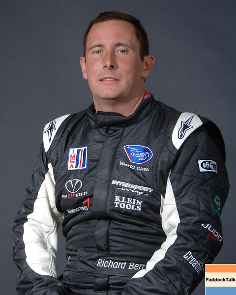 2007 American Lemans Series driver's portraits. Richard Berry